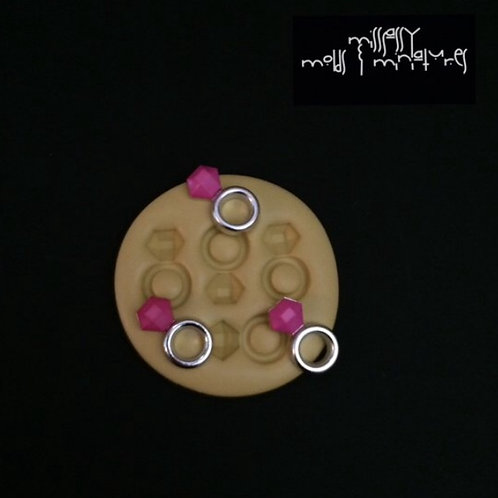 Engagement Ring Silicone Mold