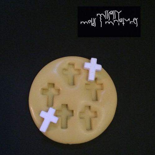 Cross Silicone Mold