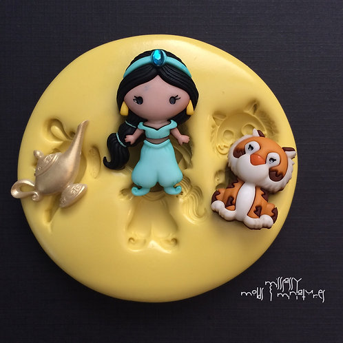 JASMINE & FRIENDS INSPIRED SILICONE MOLD