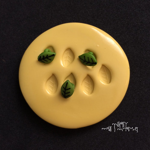 TINY LEAVES SILICONE MOLD