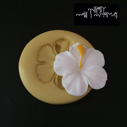 Hibiscus Flower Silicone Mold