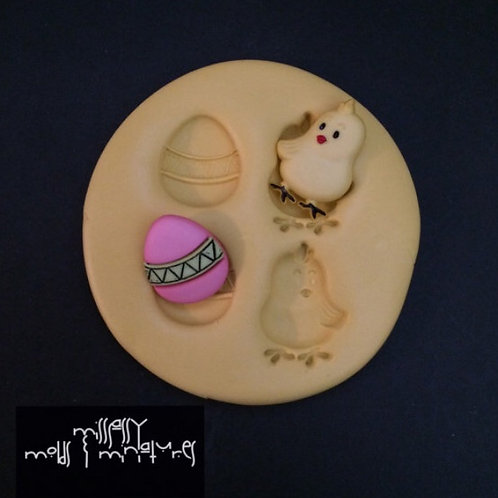 Easter Egg & Chic Silicone Mold