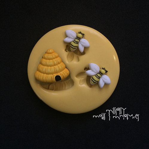 BEE & HIVE SILICONE MOLD
