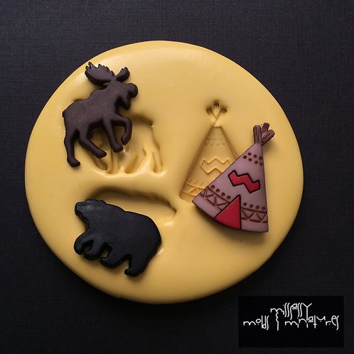 Camping Silicone Mold