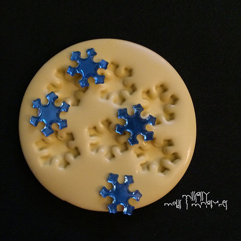 SNOWFLAKE SILICONE MOLD