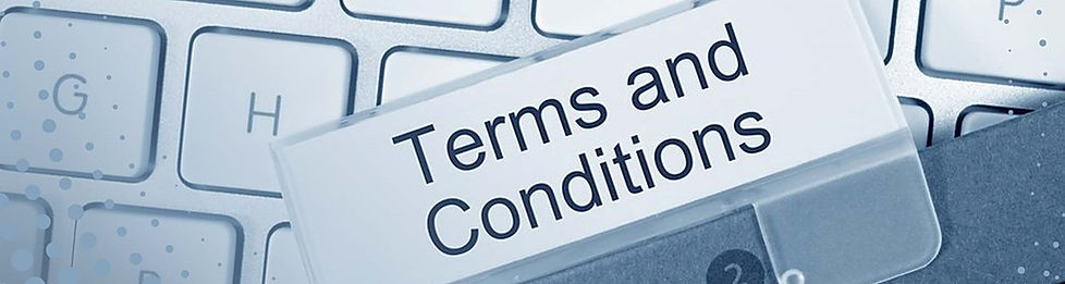 Our website terms and conditions