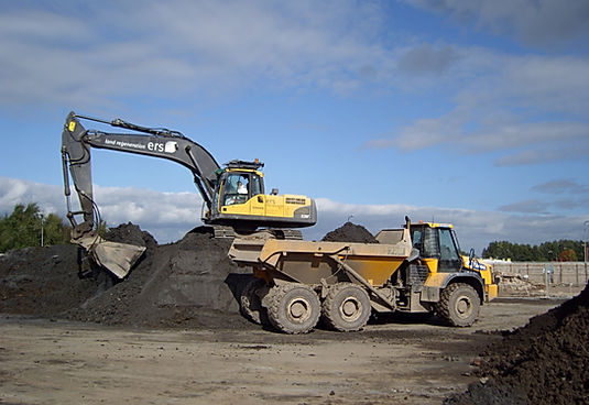 Removing contaminated soil for remediation