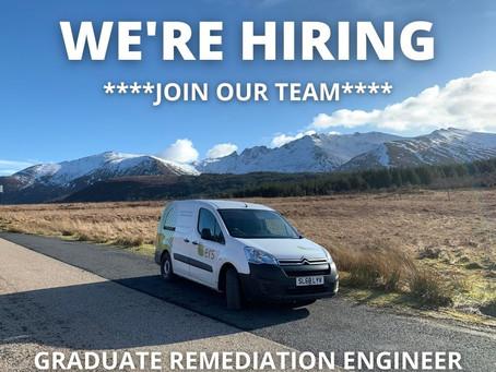 New Vacancy: Graduate Remediation Engineer