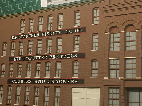 Stauffer Biscuit Company O Scale BUILDING- York Series #1