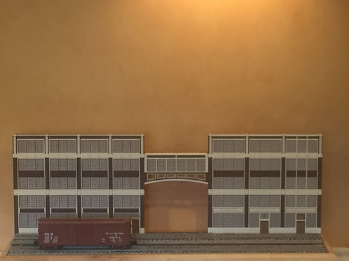 Corrigan Station 5-Story Walnut & 19th Street Built-Up Shadowbox Set