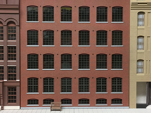 McElwain Factory Warehouse O Scale Shadowbox, Lit or Unlit