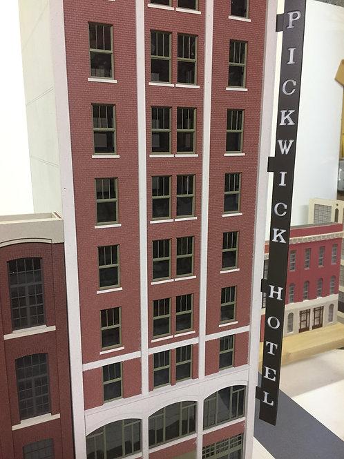 O Scale Pickwick Hotel- Kansas City