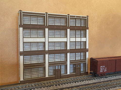 Corrigan Station 5-Story Walnut Street Built-Up Shadowbox