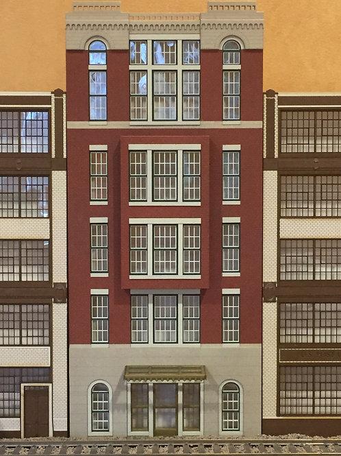 Cameron Apartments 5-Story Built-up Shadowbox