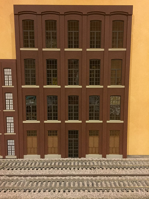 "G Scale Paterson Silk Mill, 3-Story, 15"" Long"