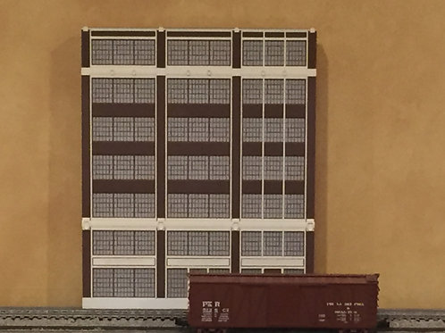 Corrigan Station 7-Story Walnut Street Built-Up Shadowbox