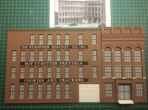 Stauffer Biscuit Company O Scale Flat- York Series #1