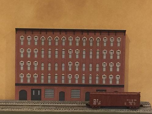 Manufacturing Warehouse MWH-1 Shadowbox  5- Story Gray Cornice