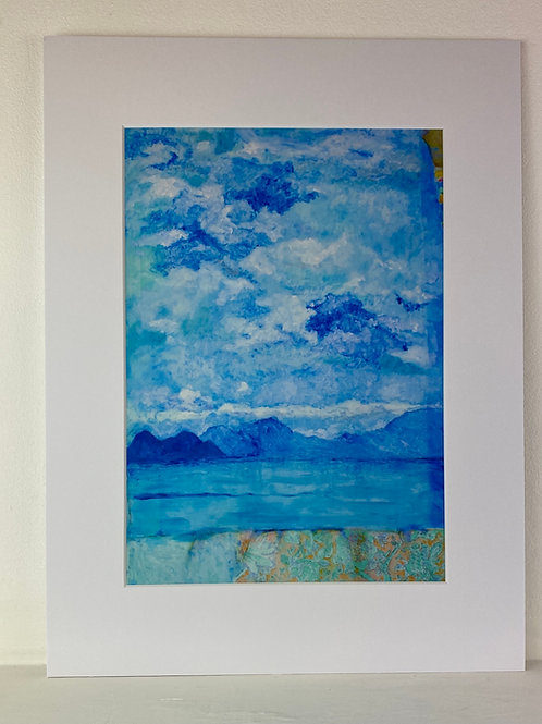 A4 Print of 'Ithakitian Sea