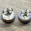 Thumbnail: Periwinkle Silver Earrings