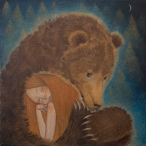 Fridays Bear Limited edition Giclee Print