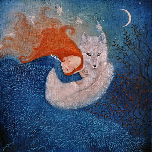 Guided by moonlight Limited edition Giclee Print