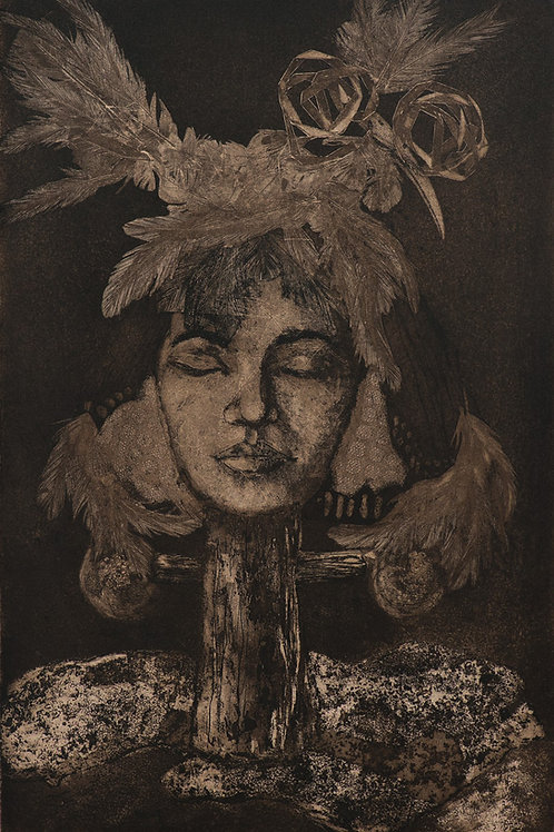 'A Rest I Shall Have' Etching
