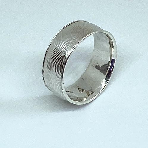 Damascus Pattern Ring