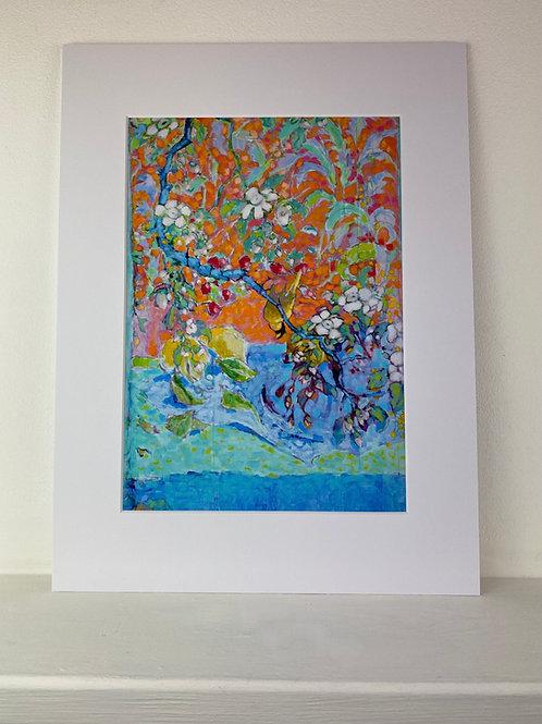 A3 Print of 'Upside Down Bird