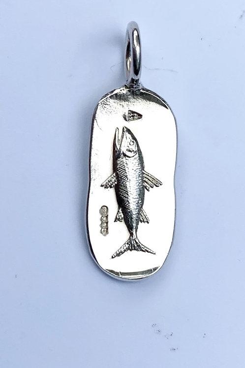 Oblong Fish Pendant