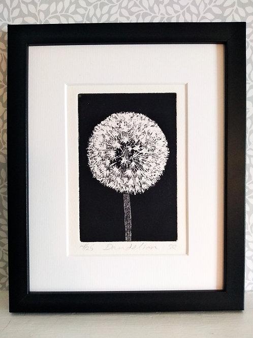 Dandelion Etching
