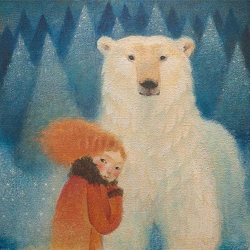 'Thursday's Bear' Limited edition Giclee Print