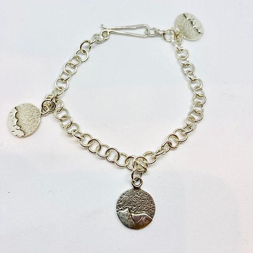 Mountain Charm Bracelet