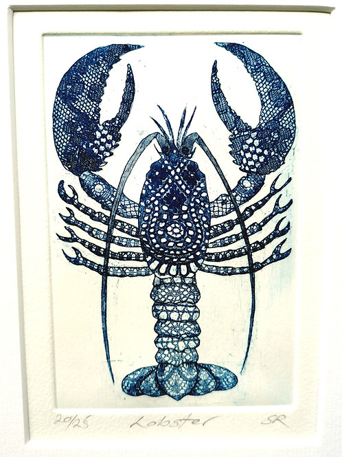 Lobster Etching