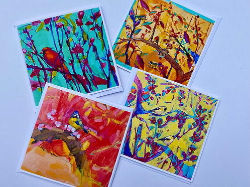Pack of Four Cards  from Adriana Eyzaguirre