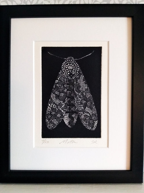 Dark Moth Etching