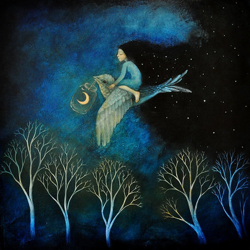 Bring on the  night Limited edition Giclee Print
