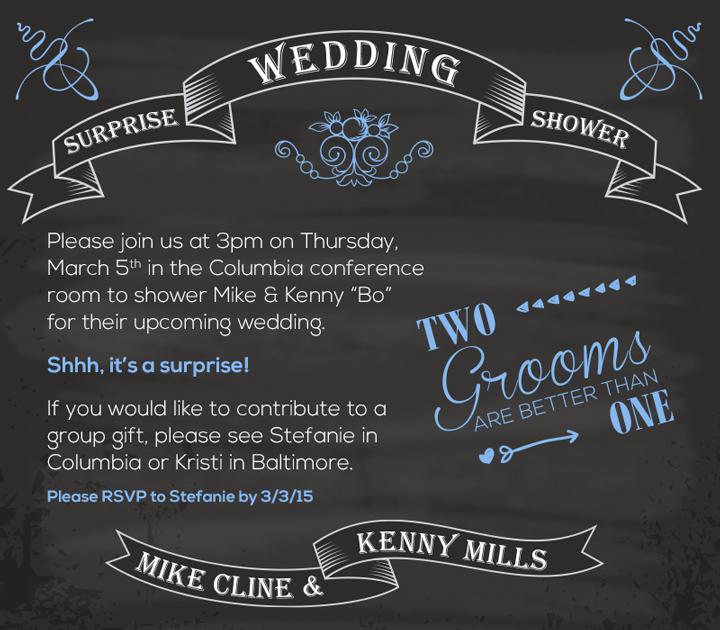 Wedding Shower Evite