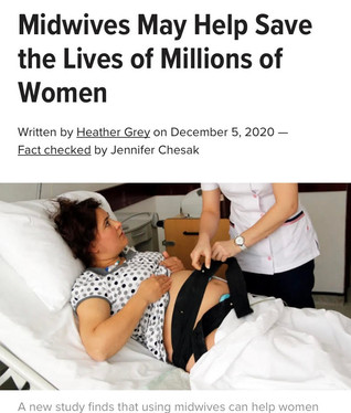 Midwives May Help Save the Lives of Millions of Women