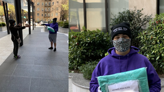 Masks for NYC Midwives - Made Possible by Heroes Coast to Coast!