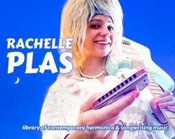 pochette library of contemporary harmonica & songwriting music - Rachelle PLAS