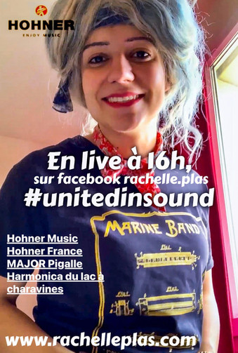 Artiste HOHNER - Rachelle PLAS