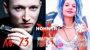 Rachelle PLAS invited to join Konstantin Reinfield Livestream
