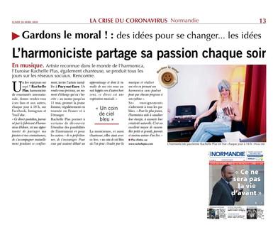 Rachelle Plas - Paris Normandie