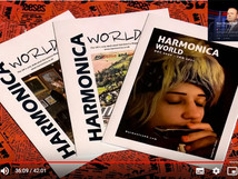 HARMONICA WORLD UK on BBC, Have I Got A Bit More News For You (magazine feat. Rachelle PLAS)