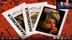 HARMONICA WORLD UK on BBC, Have I Got A Bit More News For You (magazine feat. Rachelle PLAS)
