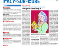 Tout pour la musique - article Eure Infos - avec HOHNER Harmonicas Happy Color & Golden Melody