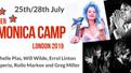 Rachelle Plas masterclass & live in London (UK) Summer Harmonica Camp on saturday 27th july 2019