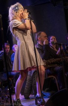 Laurent Mignard Duke Orchestra - Duke Ladies - Rachelle Plas - Photo by Pascal Bouclier