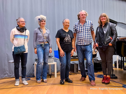 Julie Saury, Rachelle Plas, Rhoda Scott, Laurent Mignard, Aurore Voilqué